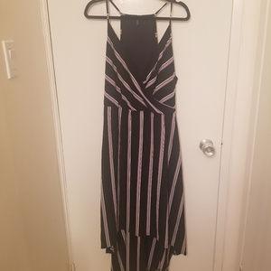 White House Black Market HiLo Stripped Dress